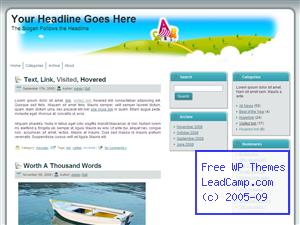 Abc In School Free WordPress Template / Themes