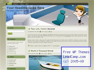 Office Work Jubiliee Free WordPress Template / Themes