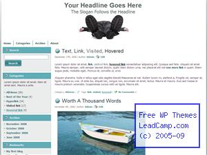 Stress And Exhaustion Free WordPress Template / Themes