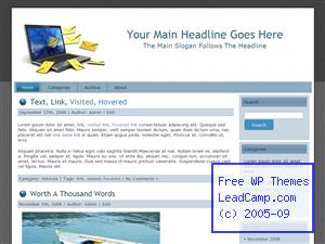 Email Overload Free WordPress Template / Themes