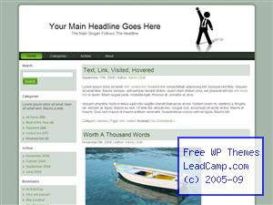 Business Achievement Free WordPress Themes / Templates