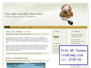 World Internet Shipping Free WordPress Themes / Templates