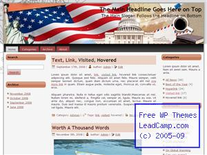 Study Of American Patriotism Free WordPress Templates / Themes