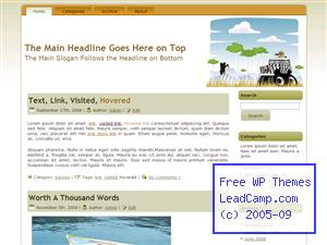 Safari Outdoor Hunt Free WordPress Templates / Themes