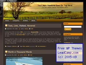 Sunrise Vineyard Glow Free WordPress Templates / Themes