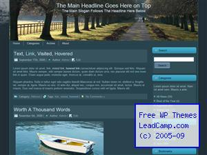 Stroll Through Country Road Free WordPress Templates / Themes