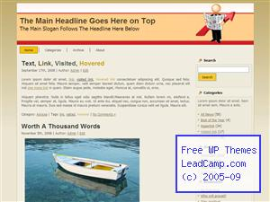 Reading Stock News Free WordPress Templates / Themes