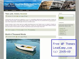 Greece Travels Free WordPress Templates / Themes