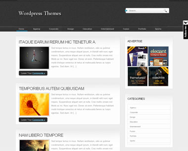 BlackMagazine WordPress Theme